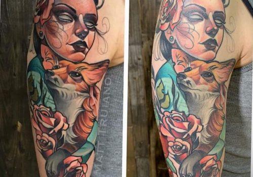 Почему тускнеет татуировка